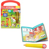 Learn My 123s and Shapes Hot Dots Jr. with Highlights On the Go Set