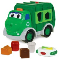 Go Green RC Recycle Truck Shape Sorting Electronic Toy