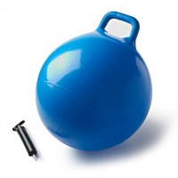 Kids 18 inches Blue Jump Ball with Pump