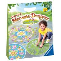 Outdoor Mandala Designer Chalk Art Kit - Flowers & Butterflies