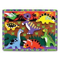 Dinosaurs Chunky Wooden Puzzle