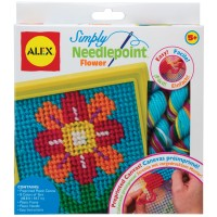 Simply Needlepoint Flower Craft Kit