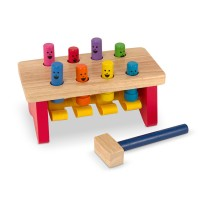 Deluxe Pound a Peg Wooden Toy