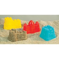 Sand Castle Molds 3 pc Sand Toy Set