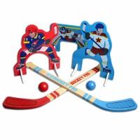 Kids Mini Hockey - Wooden Indoor and Outdoor Play Set