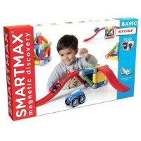 Smartmax Basic Stunt Vehicles Magnetic Building Set