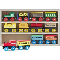 Educational Train Toys Magnetic Set with 3 Engines