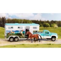Breyer Horse Pickup Truck & Gooseneck Trailer Play Set