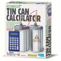 Tin Can Calculator Green Science Kit