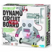 Dynamo Circuit Board Green Science Kit
