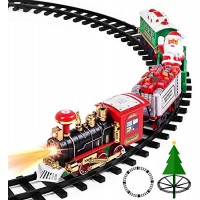 Christmas Toys Train Set with Lights and Sounds