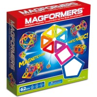 Magformers 62 pc Magnetic Construction Toy