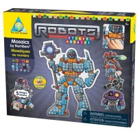 Robots Sticky Mosaics Craft Kit