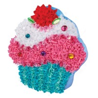 Plush Craft Cupcake Pillow Girls Craft Kit