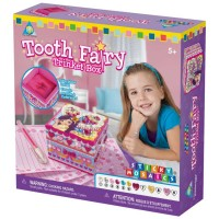 Sticky Mosaics Tooth Fairy Trinket Box Craft Kit