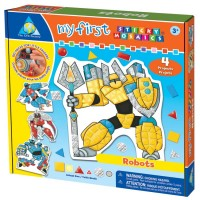 My First Sticky Mosaics Robots Craft Kit