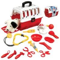 Vet Case Toy Dalmatian Veterinarian Kit