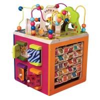 Zany Zoo Toddler Deluxe Activity Cube