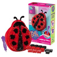 PlushCraft Ladybug Pillow Girls Craft Kit