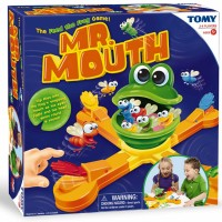 Mr. Mouth Frog Feeding Game