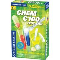Chem C100 Test Lab Chemistry Science Kit