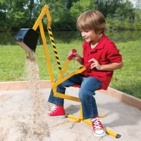 Super Sand Digger Ride-on Crane Toy