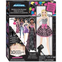 Project Runway 10 Models to the Runway Girls Craft Kit