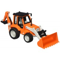 Driven Backhoe Loader Midrange Construction Vehicle
