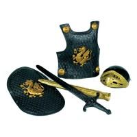 Knight Dress Up Armor Set - Black