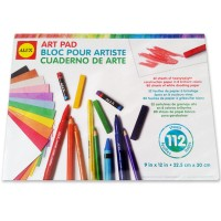 Drawing Paper & Construction Paper 112 Sheets Art Pad