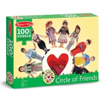 Circle of Friends Kids of the World 100 pc Jigsaw Puzzle