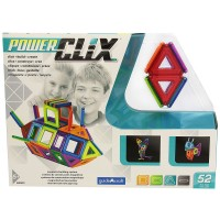 PowerClix 3D Magnetic 52 pc Building Kit