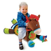 Giddy Up & Play Baby Activity Soft Toy Horse