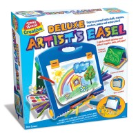 Deluxe Kids Artist Easel with Art Supplies Set