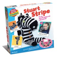 Stuart Stripe Zebra Sock Toy Craft Kit