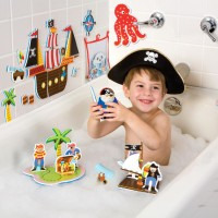 Pirates of the Tub Bath Toy