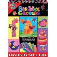 Beeswax Candles - Candle Making Craft Kit and Book