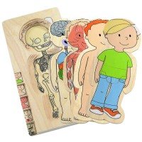 Boy Human Body Learning Puzzle