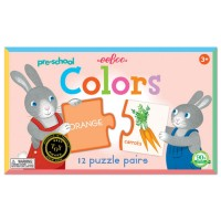 Preschool Colors Puzzle Pairs Matching Game