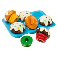 Sorting Shapes Cupcakes Learning Toy