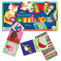 Life on Earth Dominoes Kids Game
