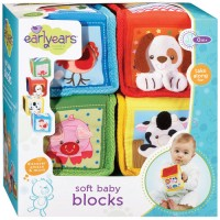 Soft Busy Baby Blocks