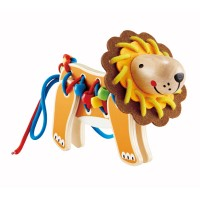 Lacing Lion Manipulative Activity Toy