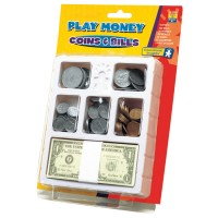 Realistic Play Money Set