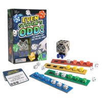 Even Stevens Odd Math Challenge Game