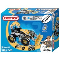 Erector 3 Model 110 pc Building Set