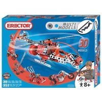 Erector 30 Model 352 pc Building Set