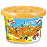 Erector Build & Play 150 pc Bucket Building Set