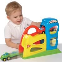 Toy Car Ramp Playset - Zig Zag Speedsters