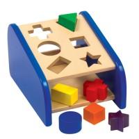 Hide n Seek Shape Sorter Wooden Toy